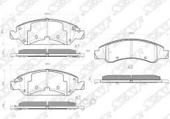 Колодки Тормозные Перед Cadillac Escalade 06-/Chevrolet Tahoe 06- Sat арт. ST-19157524