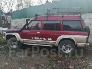 Nissan Safari. автомат, 4wd, 4.2 (142л.с.), дизель, нет птс