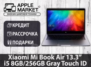 "Xiaomi Mi Notebook Air 13.3. 13.3"", 3,4 ГГц, ОЗУ 8 Гб, диск 256 Гб, WiFi, Bluetooth, аккумулятор на 10 ч."