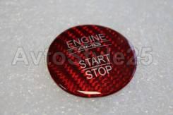 Кнопка запуска двигателя. Mercedes-Benz