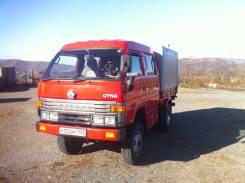 Toyota Dyna. Продам двухкабиный грузовик Toyota DYNA, 4 100куб. см., 2 000кг., 4x4
