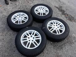 """Зимние колёса Bridgestone VRX 215/65R16 5.114.3R16 6.5jj ET40. 6.5x16"""" 5x114.30 ET40 ЦО 73,1мм."""