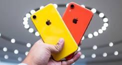 Apple iPhone Xr. Новый, 64 Гб, Белый, Желтый, Красный, Синий, Черный, 3G, 4G LTE, Dual-SIM