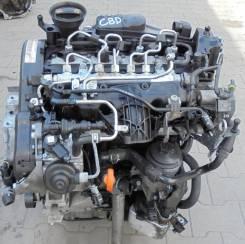 Двигатель CBDb CBD 2.0 TDI АKПП 2012 Шкода AUDI SEAT VW