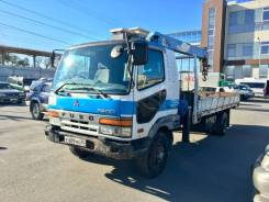 Mitsubishi Fuso Fighter. Бортовой с краном, не конструктор., 7 500 куб. см., 5 000 кг., 4x2
