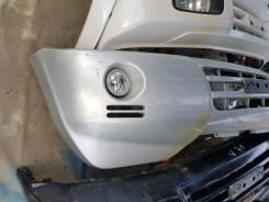 Бампер Mitsubishi Pajero 3 рестайл