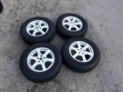 """Колёса Bridgestone Blizzak 215/70R16 5.114.3. R16 6.5j ET38. 6.5x16"""" 5x114.30 ET38 ЦО 73,1мм."""