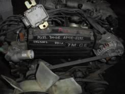 Двигатель в сборе. Toyota Cresta, MX83 Двигатель 7MGE