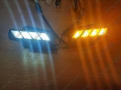 Ходовые огни. Toyota Land Cruiser Prado, GRJ120, GRJ120W, GRJ121W, GRJ125W, KDJ120, KDJ120W, KDJ121W, KDJ125W, LJ120, RZJ120W, RZJ125W, TRJ120, TRJ120...
