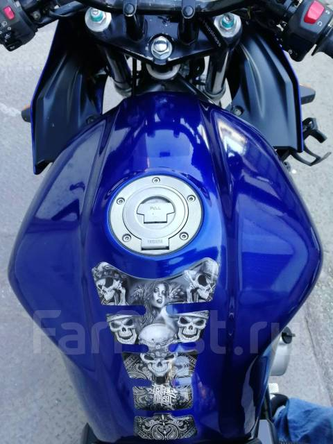 Yamaha FZS 1000. 1 000куб. см., исправен, птс, с пробегом