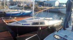 Продам яхту Ассоль. Длина 5,50м., 1989 год год