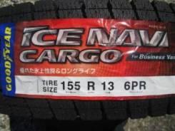 Goodyear Ice Navi Cargo. Зимние, без шипов, 2016 год, без износа, 4 шт