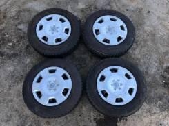 """Хороший комплект Японских шин Bridgestone 185/70 R14. x14"""" 4x100.00"""