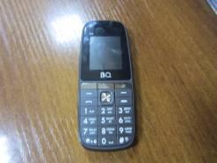 BQ BQ-1841 Play. Б/у, до 8 Гб, Серый, Dual-SIM, Кнопочный