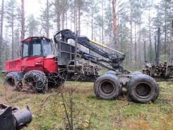 Valmet 860.3. Форвардер , 2008 г., цепи, гусеницы