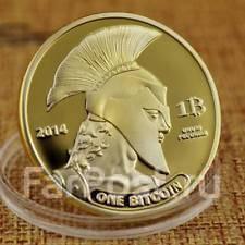 Новый Биткоин bitcoin + Капсула. Огромная монета!