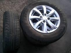 Продам комплект колес (4 шт) R14, летняя резина 185/70R14 88H