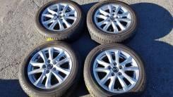 """16378 Mazda Оригинальный комплект колес + Bridgestone Ecopia EP150. 6.5x16"""" 5x114.30 ET50 ЦО 67,1мм."""
