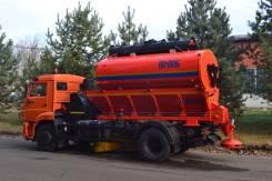 Коммаш КО-806. Комбинированная дорожная машина КО-806 на шасси Камаз 43253, 6 700куб. см.