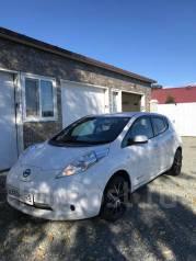 Nissan Leaf. передний, электричество