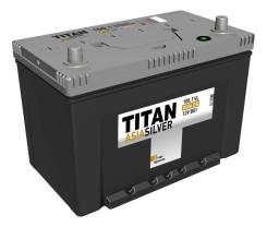 Titan. 100А.ч., Прямая (правое), производство Россия
