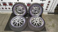"""Комплект разношироких колес Bolzanos R18. 8.0/9.0x18"""" 5x114.30 ET35/35"""