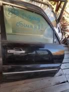 Дверь передняя правая Mitsubishi Pajero 4 V93W V97W V98W цвет черный