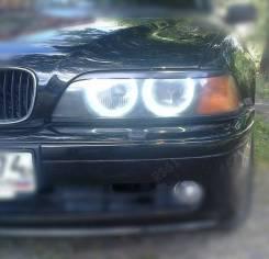 Защита фар прозрачная. BMW 5-Series, E39, Е39