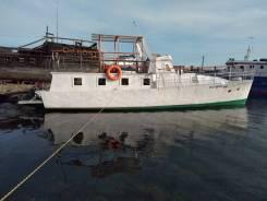 Проект 371 Адмиралтеец. длина 12,00м., двигатель подвесной, 85,00л.с., бензин