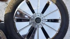 Продам 4 колеса 225/55 R17 лето б/у + литье 5х100 4х114,3 20000 за 4шт