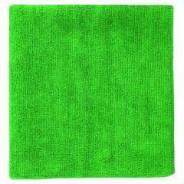 Салфетка МИКРОФИБРА 30х30 см, зеленая Без Упаковки