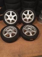 """Продам комплект колес Bridgestone на 16 с зимней резиной. 5.5x16"""" 4x100.00 ET44 ЦО 73,0мм."""