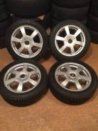 """Продам комплект колес Weds Gurtna на 16 с зимней резиной. 6.0x16"""" 4x100.00 ET42 ЦО 73,0мм."""