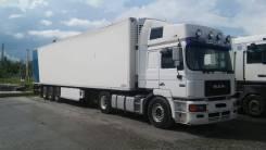 MAN F2000. Продам сцепку тягач МАN F2000 полуприцеп рефрежиратор, 459куб. см., 20 000кг., 4x2