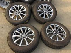"225/60R17 Toyo 90% на темном Manaray R17 7j 50 5/100 Forester Outback. 7.0x17"" 5x100.00 ET50 ЦО 67,0 мм."