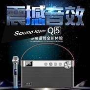 Караоке бумбокс Sound Storm Q5