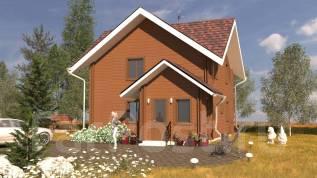 Готовый проект дома 114 кв м Двойной брус от производителя 1,8 млн