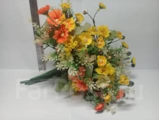 Стильные необычные букеты цветов #4
