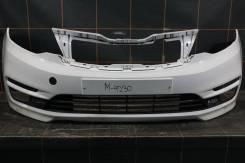 Бампер передний - Kia Rio 3 (2015-17гг)