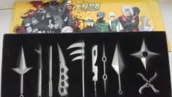 Боевые предметы героев аниме