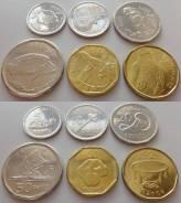 Набор 5 монет = Фиджи - 2012 год. UNC