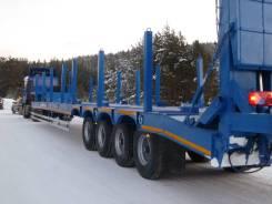 ЧелябДорМаш. Высокорамный трал тяжеловоз ЧДМ (4 оси 48 000 кг), 48 000кг. Под заказ