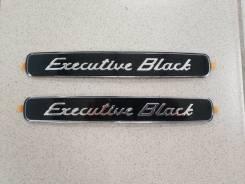 Эмблема (шильдик) Executive Black Land Cruiser 200. Toyota Land Cruiser, URJ200, URJ202, URJ202W, UZJ200, UZJ200W, VDJ200