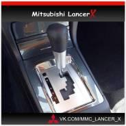 Консоль AT/CVT Ralliart Mitsubishi Lancer 10. Mitsubishi Lancer, CX2A, CX3A, CX4A, CX5A, CX8A, CX9A, CY1A, CY2A, CY3A, CY4A, CY5A, CY8A, CY9A Двигател...