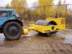 Завод ДМ DM-8. Каток дорожный грунтовый прицепной DM-8