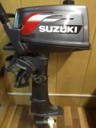 Suzuki. 4,00л.с., 2-тактный, бензиновый, нога S (381 мм), 2005 год