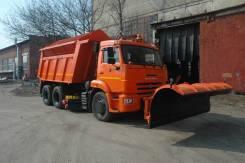 КамАЗ 65115. Комбинированная дорожная машина Камаз 65115