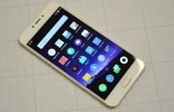 Meizu MX6. Б/у, 32 Гб, Белый, Золотой, 4G LTE