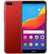 Huawei Honor 7C. Новый, 32 Гб, Красный, 3G, 4G LTE, Dual-SIM