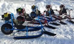 Мотоснегокат-снегоход детский, 2018. исправен, без птс, без пробега